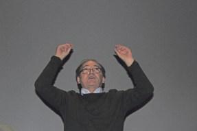 Christian Steinbacher bei einem Auftritt in Lyon im März 2019. Foto Louis Roquin