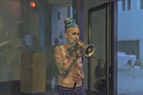 Eric big Clit im Vorjahr im KunstRaum Goethestrasse xtd. Foto Petra Moser