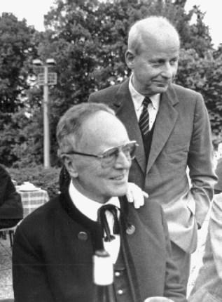Rudolf Bayr und Wolfgang Schaffler. Foto Wolfgang Weber / Residenz Verlag
