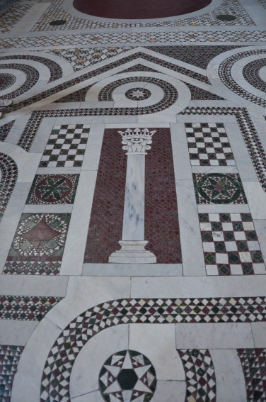 eines von vielen Mosaiken in den Kirchen