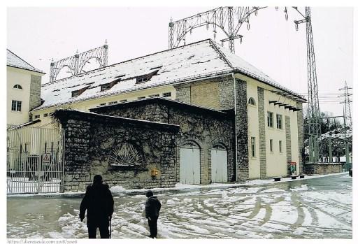 Wasserkraftwerksgebäude