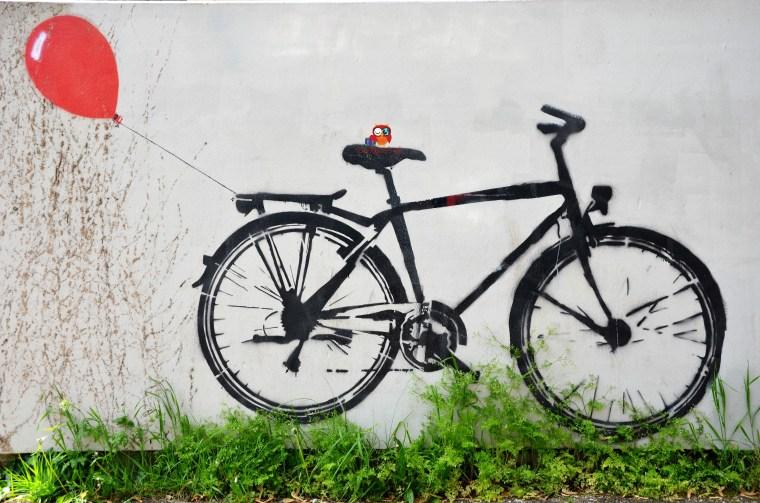 FahrradGraffiti komp. Logo