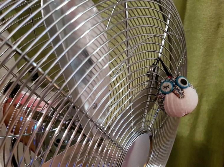 Ventilator mit ReiseEule