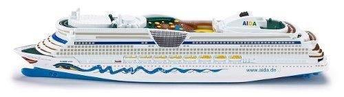 Aida , Schiffsmodell, 22,6 cm, Hersteller Siku, gesehen bei Amazon für 8,98 €