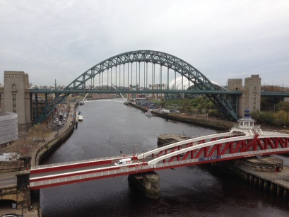 Kurzreise Newcastle, Blick von der High Level Bridge