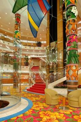 Atrium © Norwegian Cruise Line