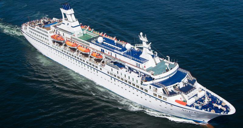 MS Astor, Pressefoto: TransOcean Kreuzfahrten