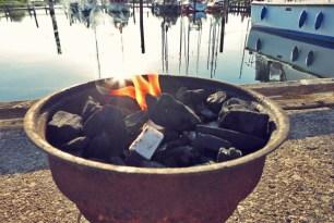 Spareribs Seglerküche Kochen an Bord oder Camping