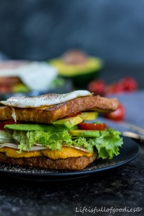 French Toast herzhaft Foodies for Sailors Segelrezept