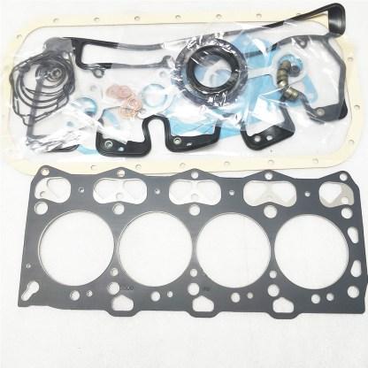 ISUZU 4LE2 ENGINE OVERHAUL REBUILD KIT HITACHI CASE KOBELCO EXCAVATOR DENYO 8