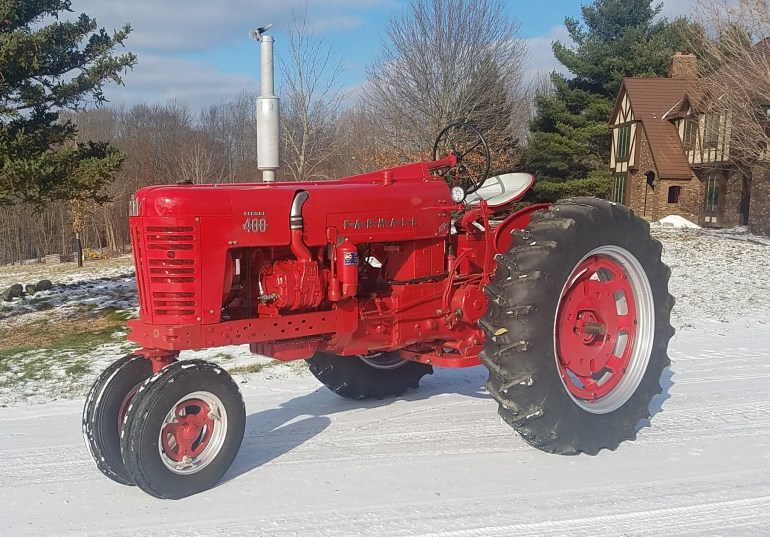 Farmall 400 Diesel with 2-71