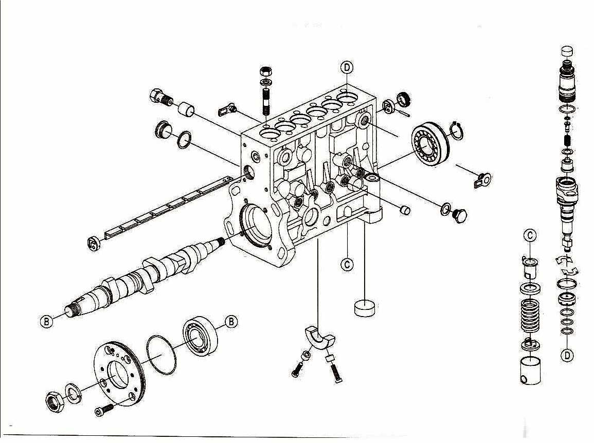 Bosch P Fuel Pump Diagrams
