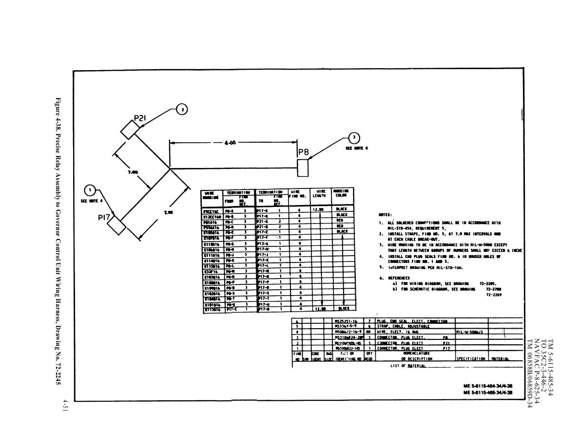 Figure 4 38 Precise Relay Assembly To Governor Control