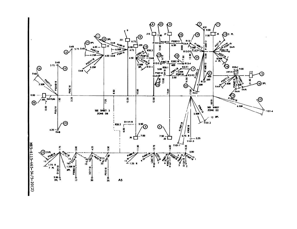 Special relay assembly wiring harness drawing no 72