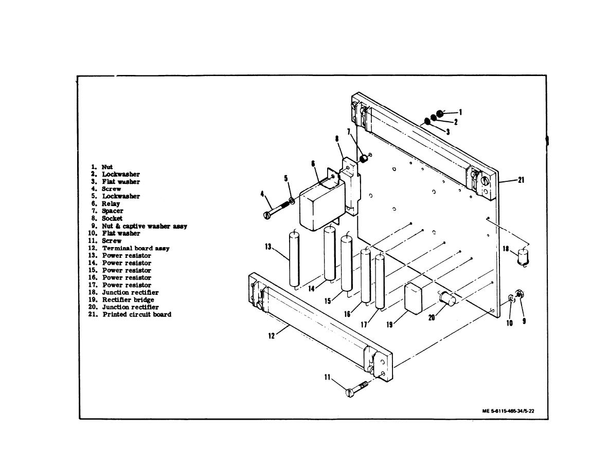 Figure 5 22 Dc Relay Assembly Exploded View