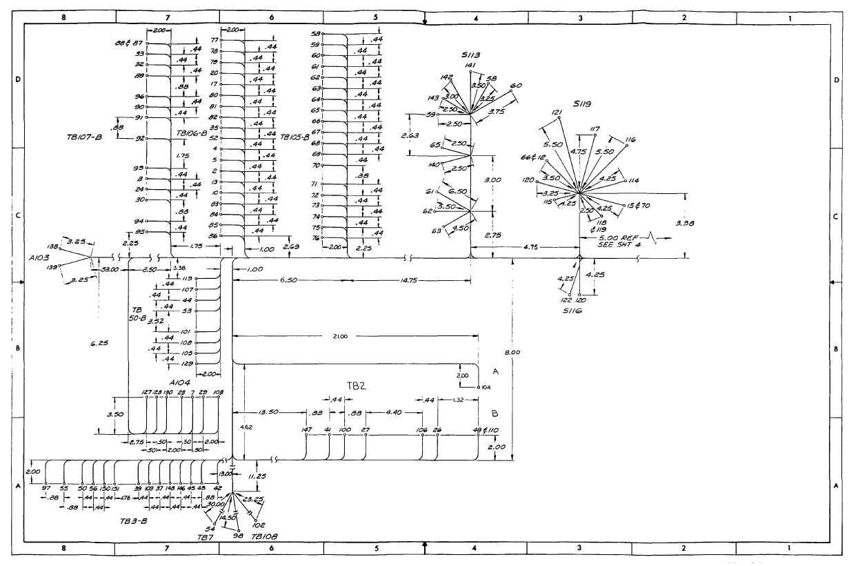 Fo 22 Cabinet B Door Wiring Harness Sheet 3 Of 8