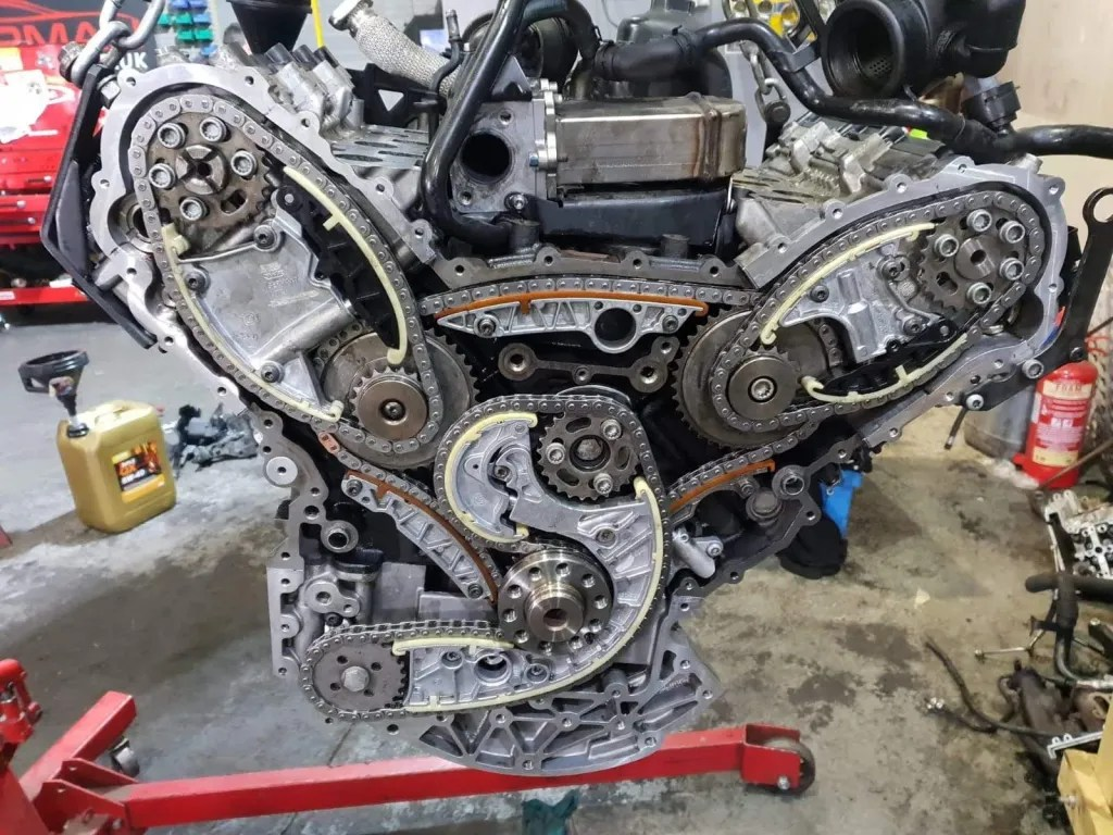 3.0 TDI Engine Rebuild