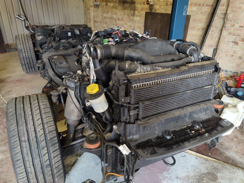 range rover engine repair