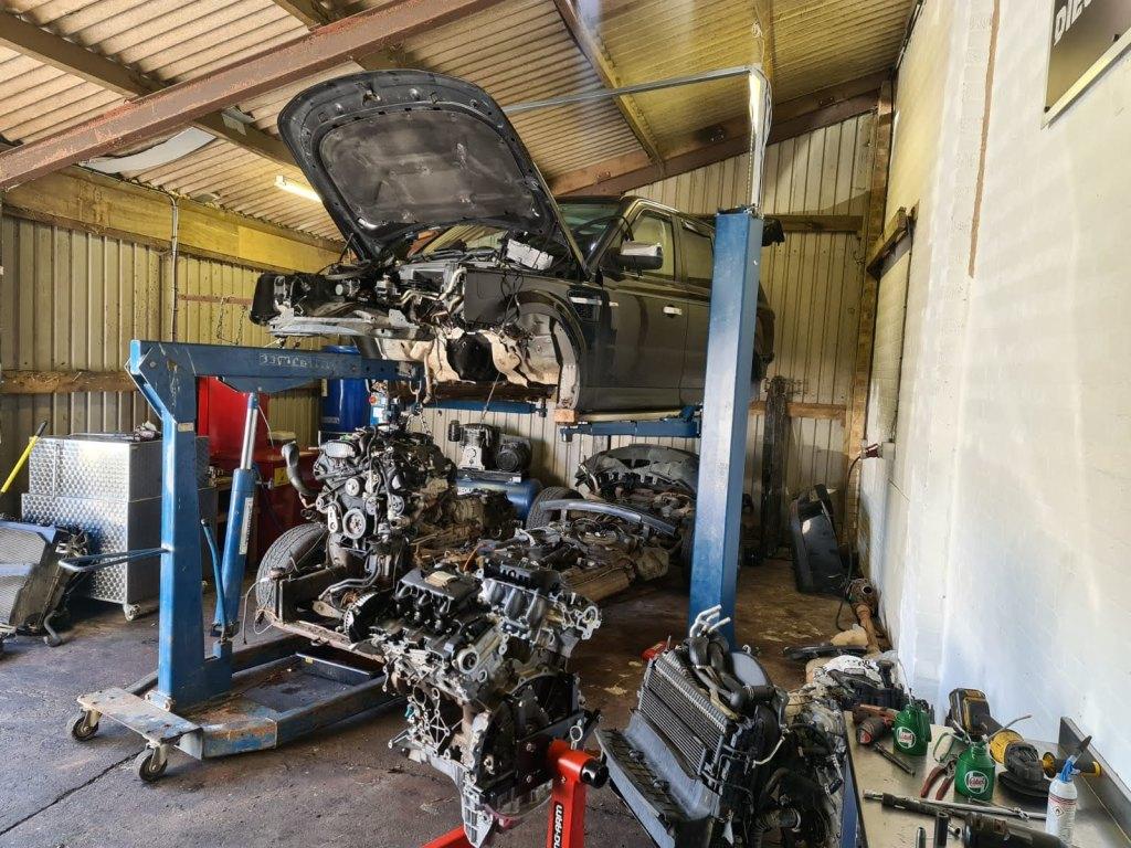 Land Rover Engine Repair