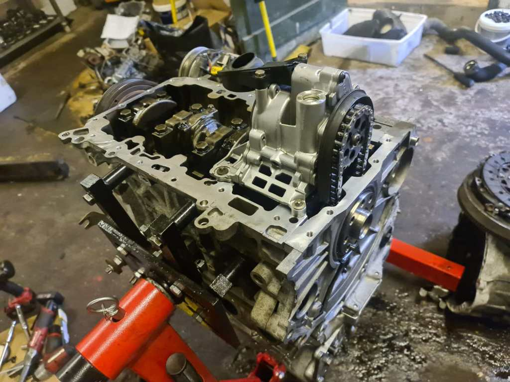 BMW engine repair