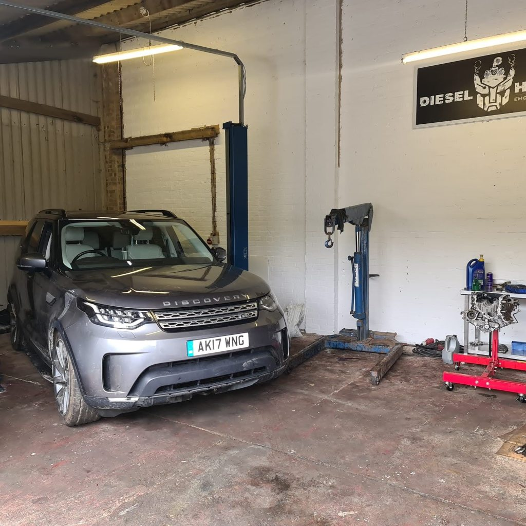 Land Rover Discovery 5 engine