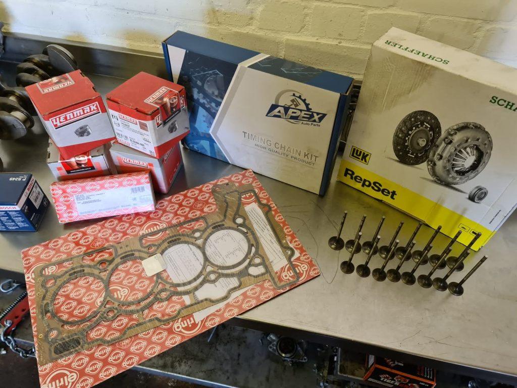 mini engine parts