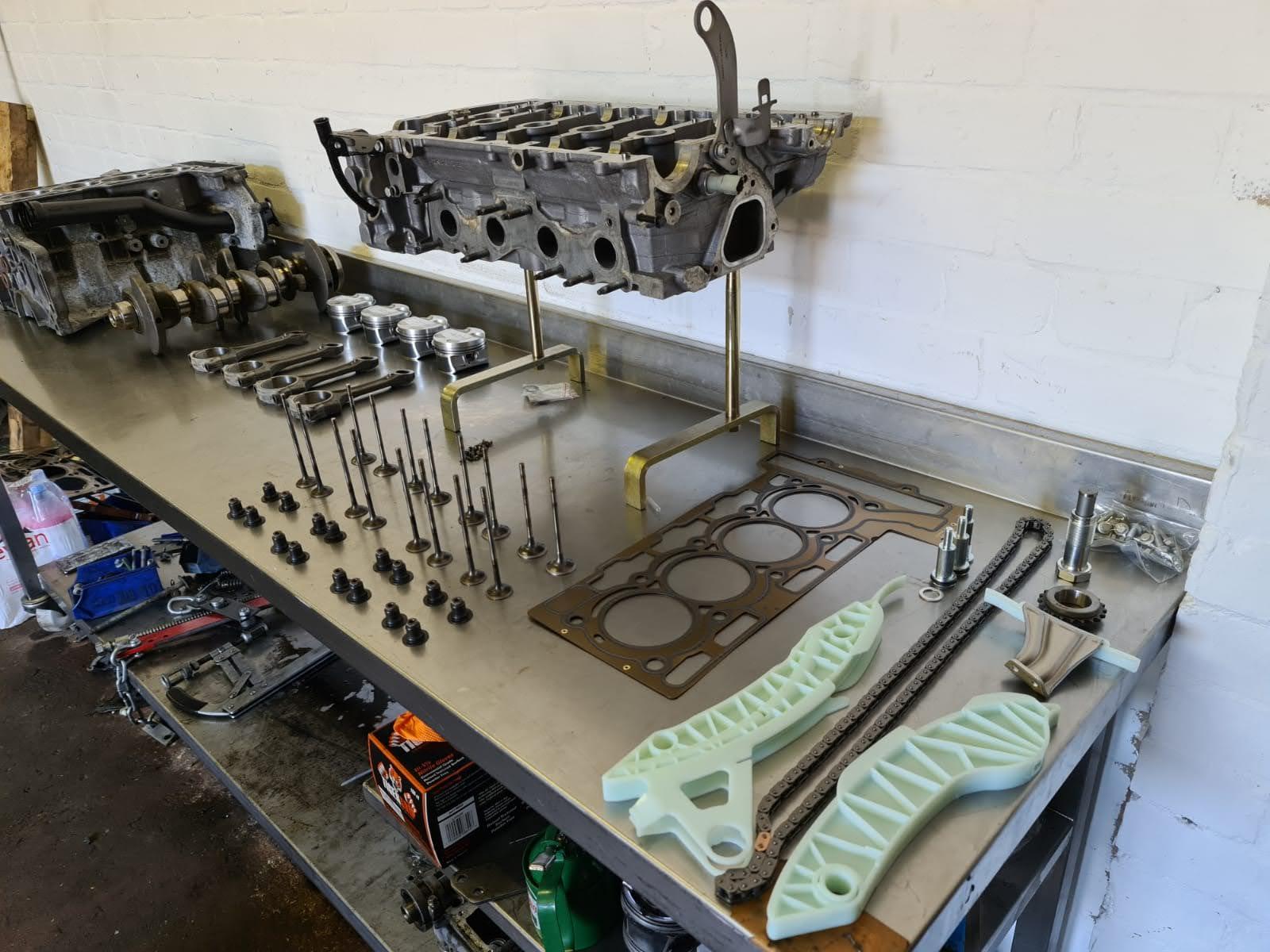 bmw 1.6 engine rebuild