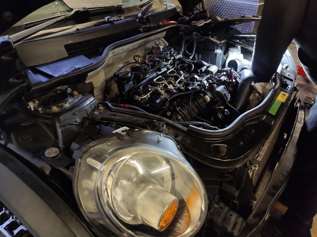 mini engine rebuild