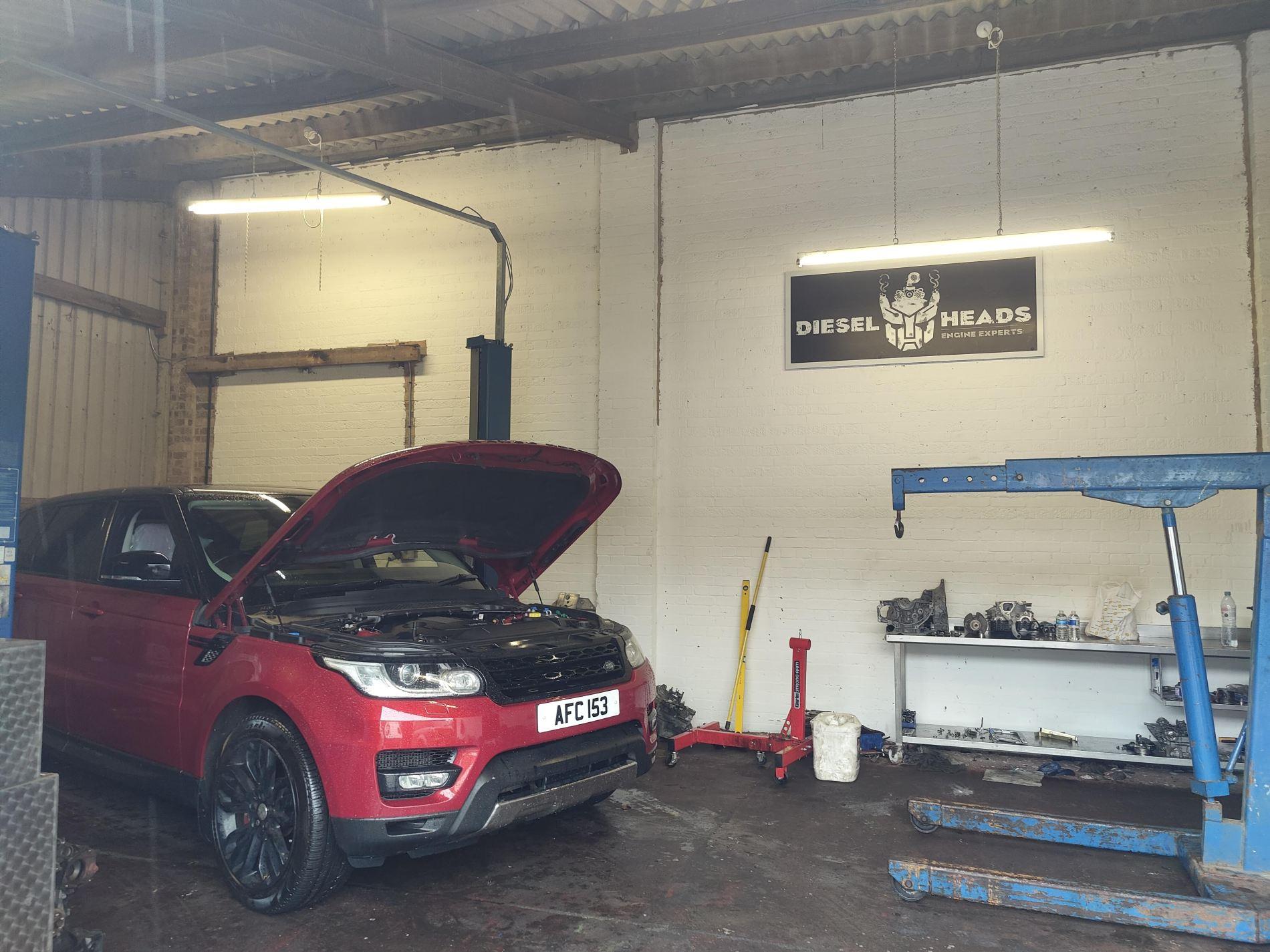range rover 3.0 diesel engine repair