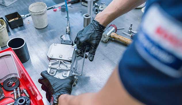 Montaje de bomba VP Bosch