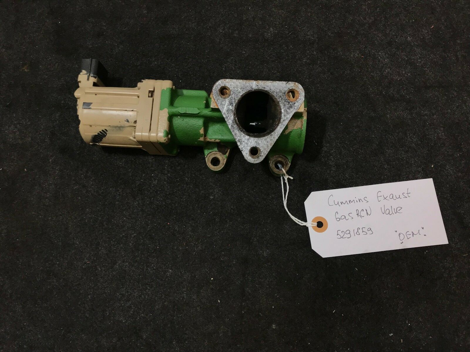 New Cummins OEM Part 3686371 VALVE,SOLENOID Free Shipping!