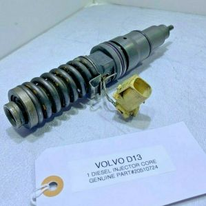 (CORE ONLY) VOLVO D13 DIESEL ENGINE FUEL INJECTOR 20510724 OEM