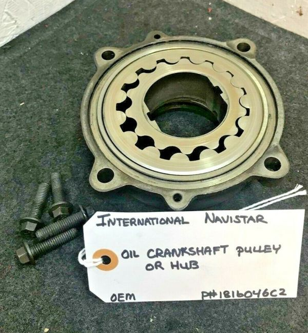 CRANKSHAFT PULLEY / HUB INTERNATIONAL NAVISTAR 1816046C2 OEM