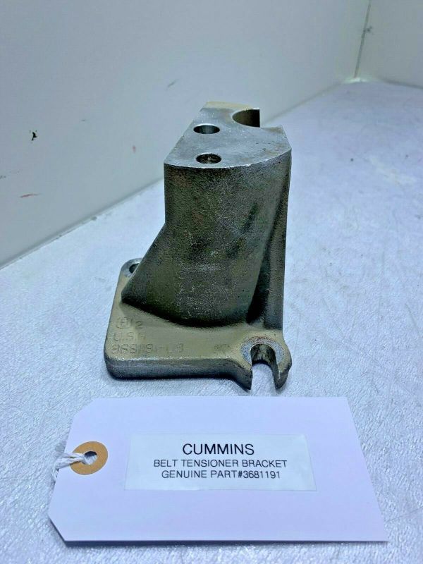 CUMMINS BELT TENSIONER BRACKET 3681191 GENUINE OEM