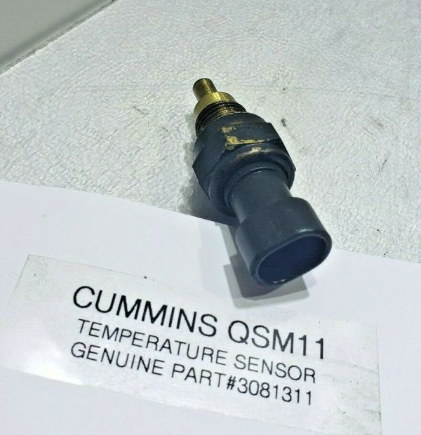 Cummins Coolant TEMPERATURE Sensor 3081311 OEM GENUINE
