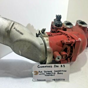 CUMMINS ISL 8.3 Air Intake connection w/ Throttle Related Assembly OEM 5285778