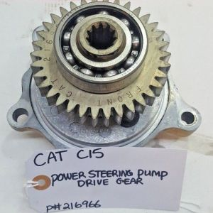 CATERPILLAR POWER STEERING PUMP with the Gear Drive 216966 OEM