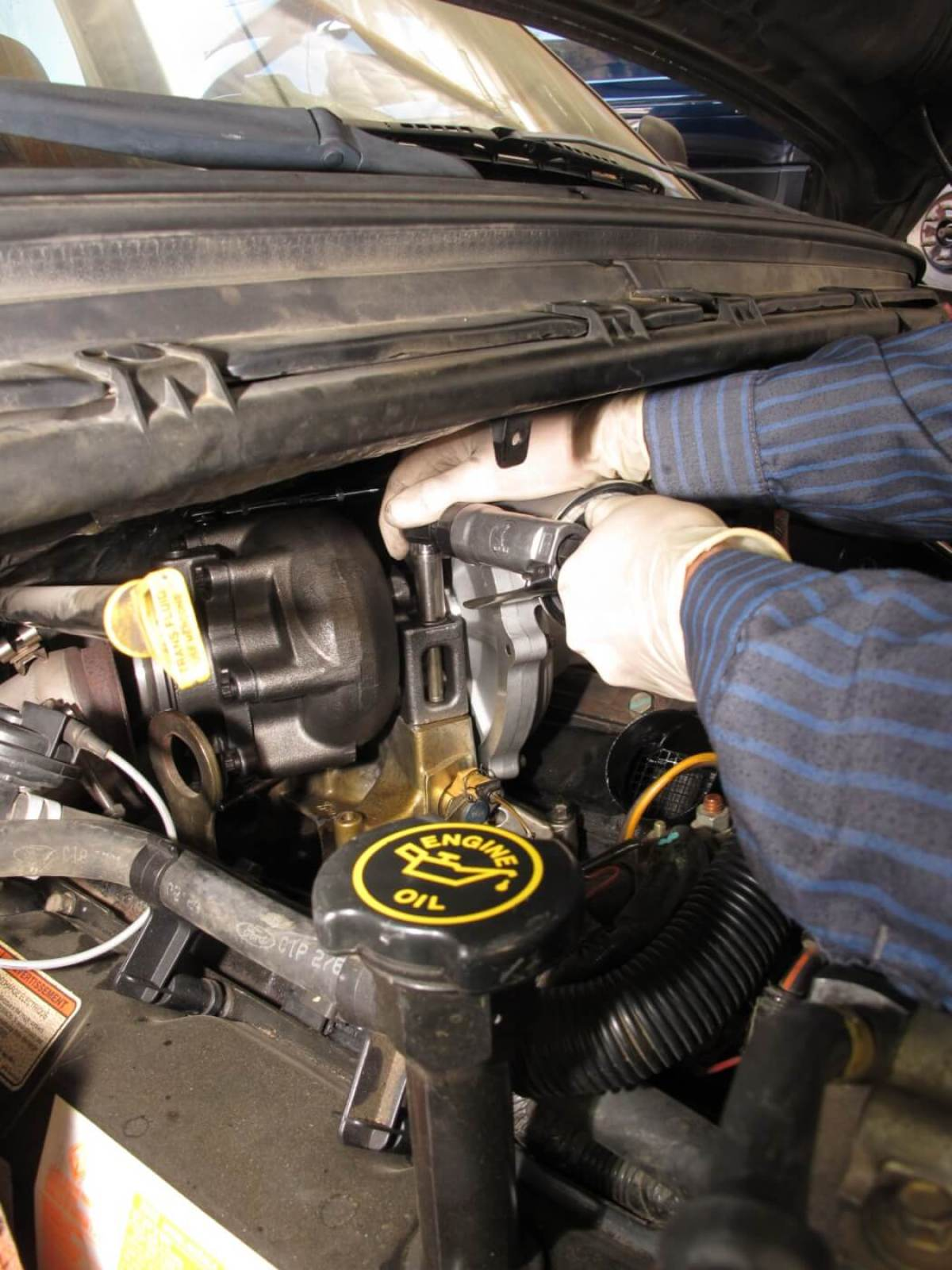 Turbo-Up: More Power and Lower EGT