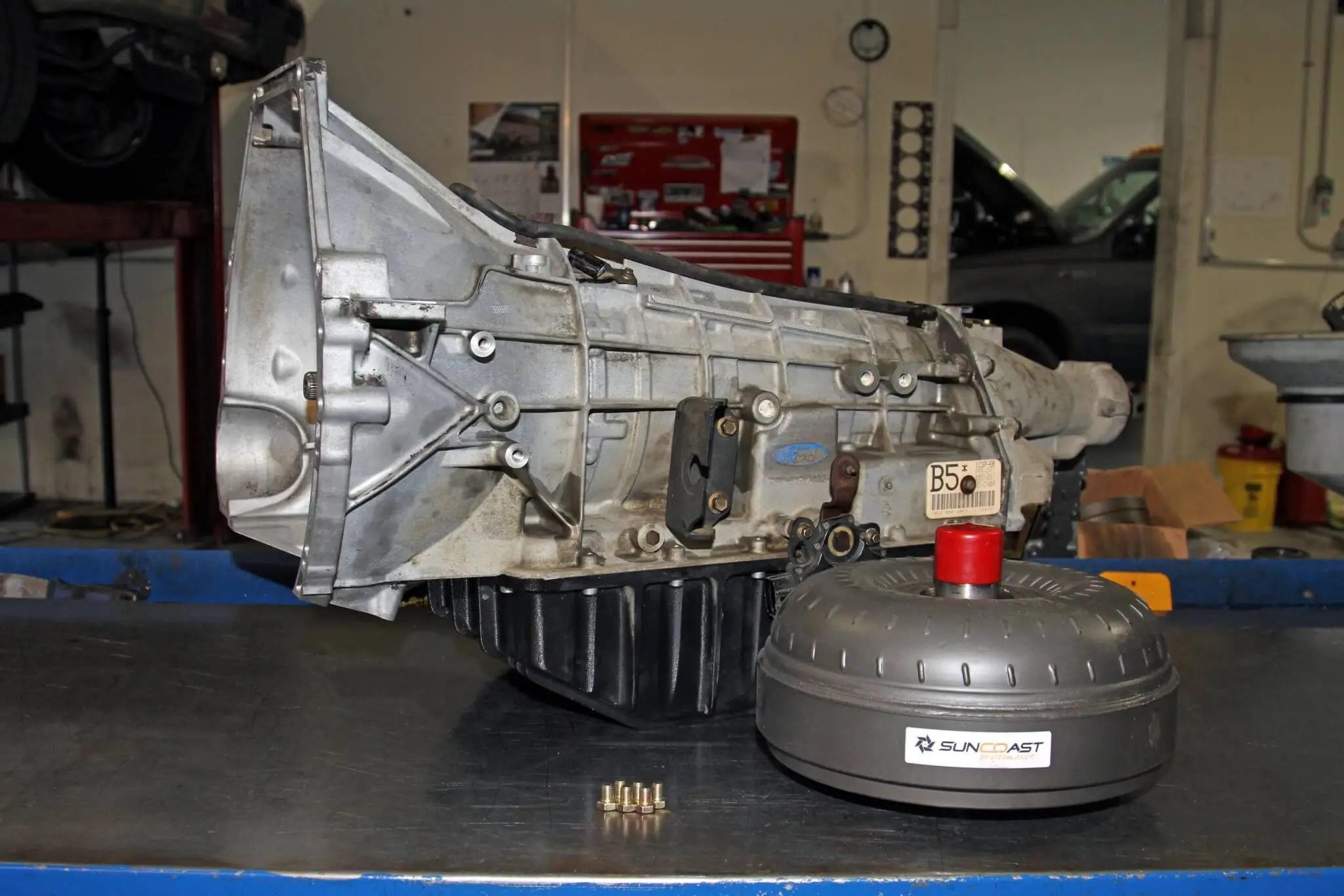 Project Work Truck 5: Rebuilding Transmission