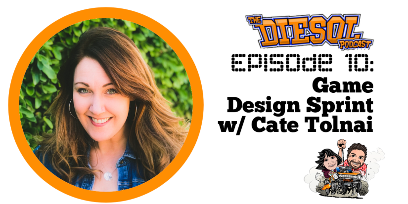Episode 10 - Game Design Sprint w Cate Tolnai