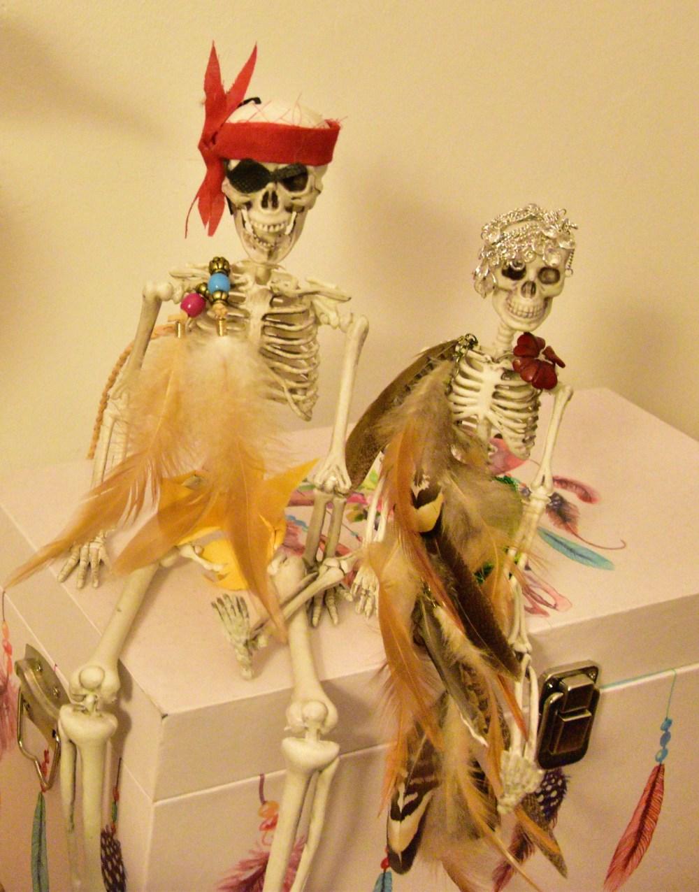 Happy Mr.&Mrs.Skeleton