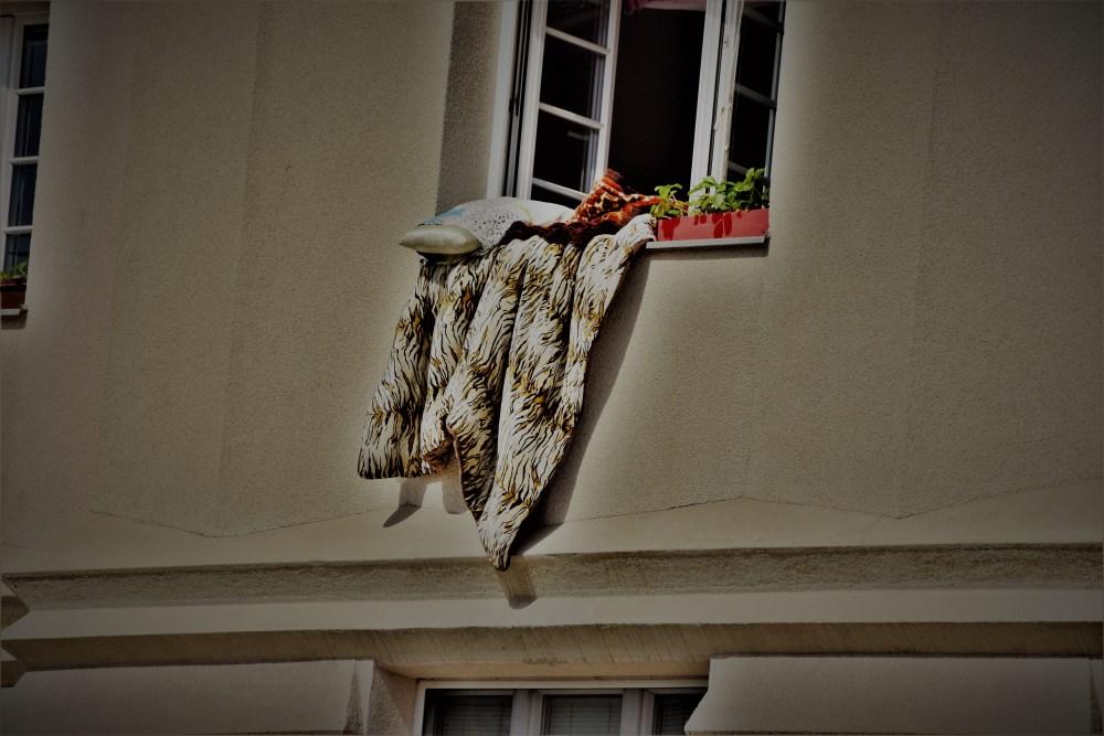 Bettwäsche lüften © Silvia Springer