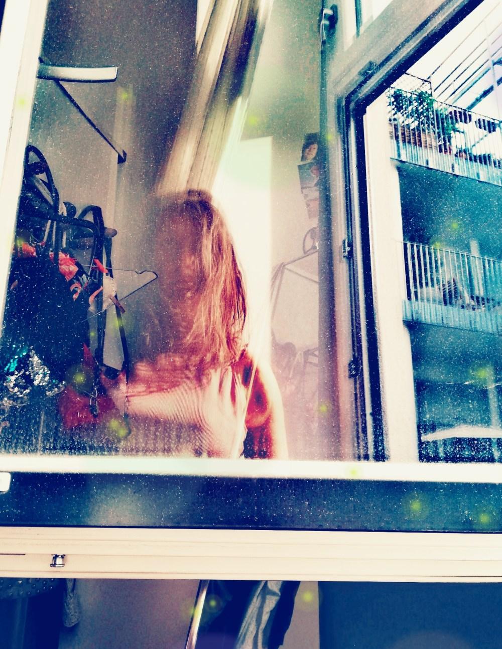 Quarantanen-Selfie © Silvia Springer