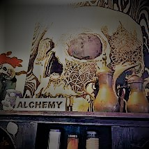 Alchemy Skull © Silvia Springer