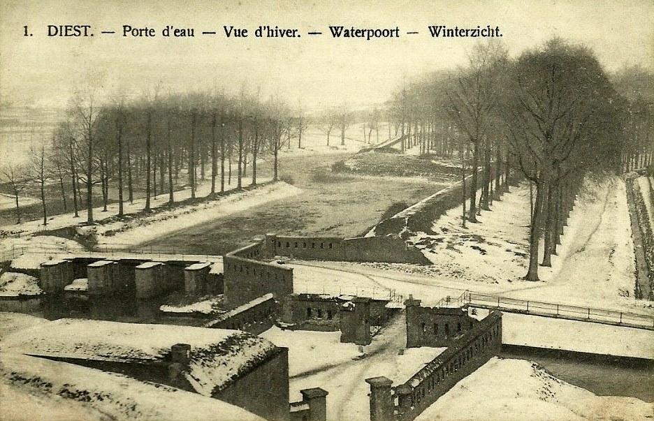 De Waterpoort in 1913