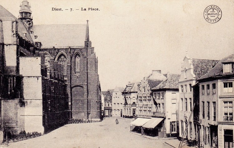 Grote Markt in 1913