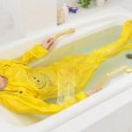 バナナスリムの折りたたみ方 お風呂専用サウナスーツバナナスリムの簡単楽ちんの折りたたみ方