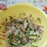 【ダイエット料理】簡単サバ水煮缶のポン酢和え