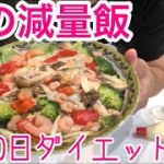 【レンジで簡単ダイエットご飯】悲報100日ダイエット終了のお知らせです