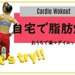 自宅で簡単ダイエット運動!足痩せにも☆エアロビスタイル・ダンスエクササイズ